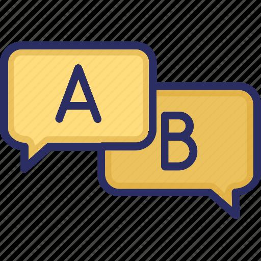 communication, conversation, customer, talk icon