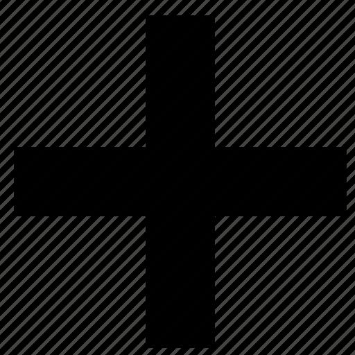 cross, plus icon