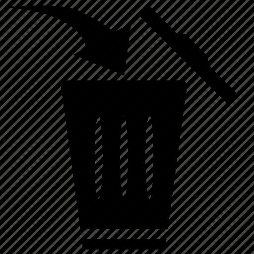 delete, garbage icon