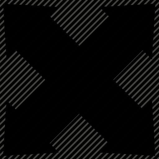 expand, maximize icon