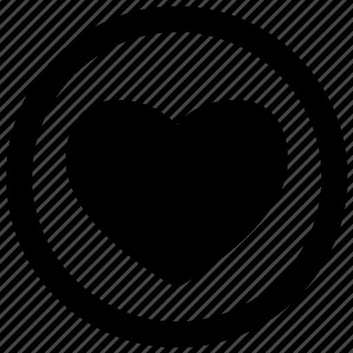 favourite, heart icon