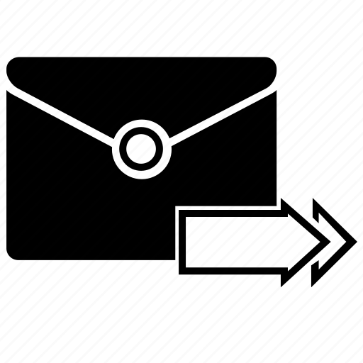 forward, mail icon