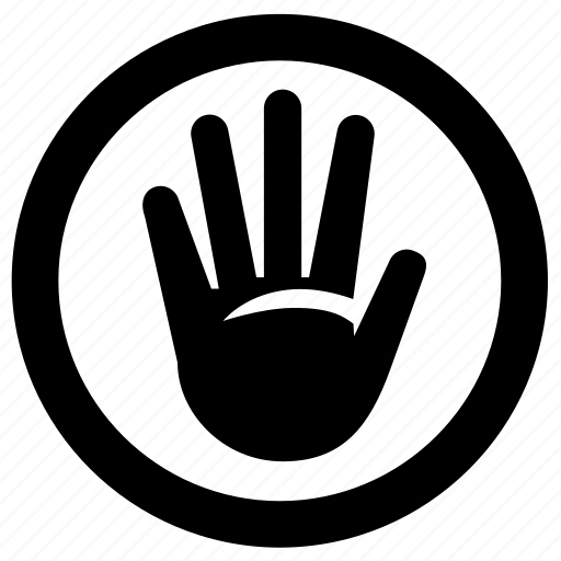 ignore, stop icon