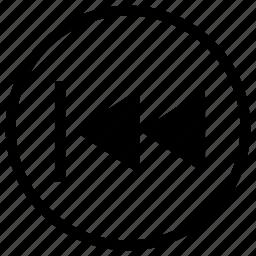 back, previous icon
