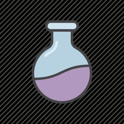 glass, lab, minimalize, tube icon