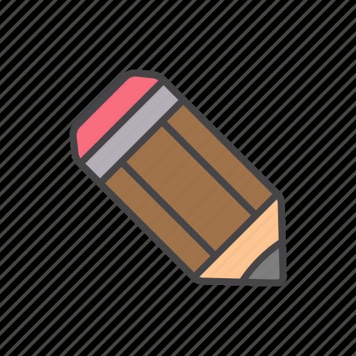 draw, minimalize, pencil, school, write icon