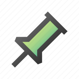 important, location, pin, point, pushpin icon