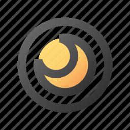 hibernate, night, sleep, switch icon
