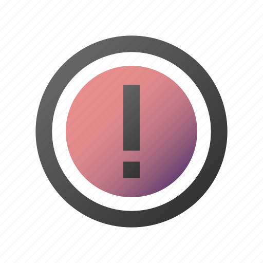 alert, attention, exclamation, important, warning icon