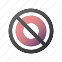 ban, cancel, delete, forbidden, remove, stop icon
