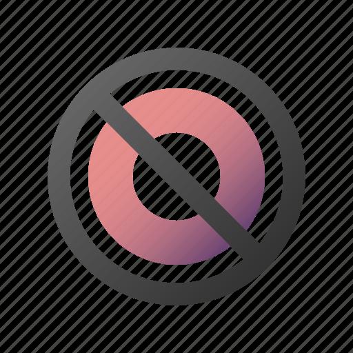 ban, cancel, delete, forbidden, remove, stop icon