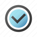 accept, check, checkmark, ok icon