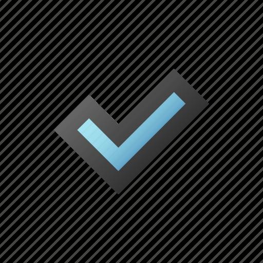accept, check, checkmark, done, ok, success icon