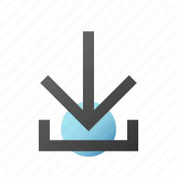 archive, arrow, download, restore icon