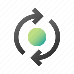 arrow, refresh, reload, repeat, rotate, sync, synchronization icon