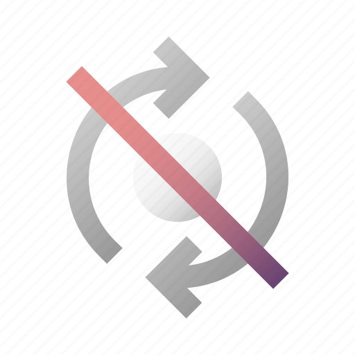 off, refresh, reload, switch, sync, synchronization icon