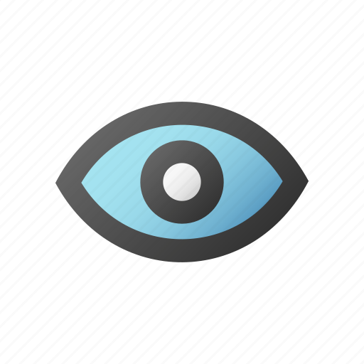 eye, find, look, search, show, view, vision icon