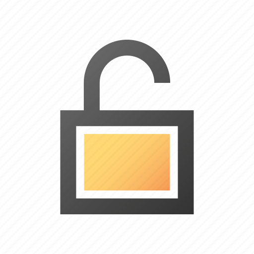 open, padlock, password, protection, secure, security, unlock icon