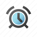 alarm, alert, clock, ring, timer icon