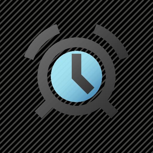 alarm, alert, clock, ring, timer icon