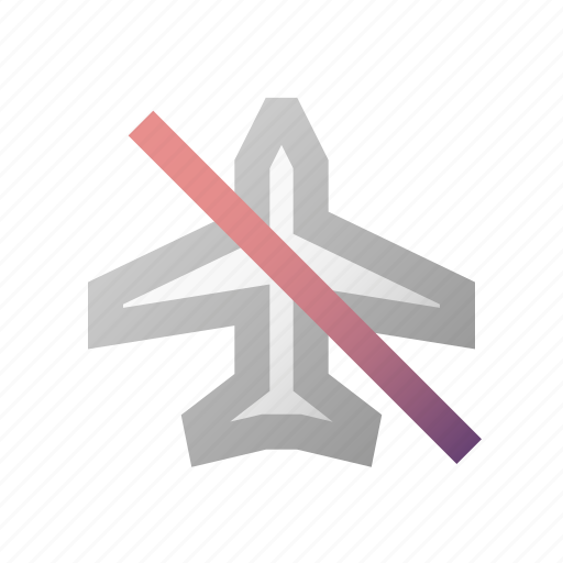 airplane, flight, mode, off, switch, transport icon