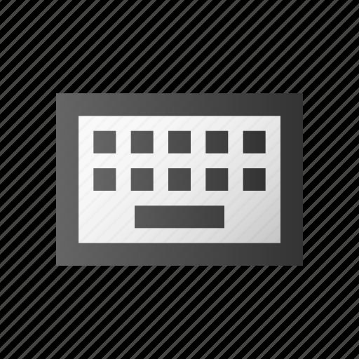 device, hardware, input, keyboard, language, type, typing icon