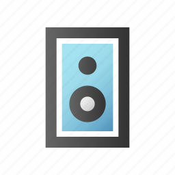 audio, loudspeaker, sound, speaker, volume icon