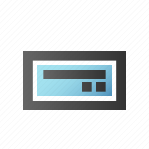 cd, data, disk, drive, harddisk, ramm, storage icon