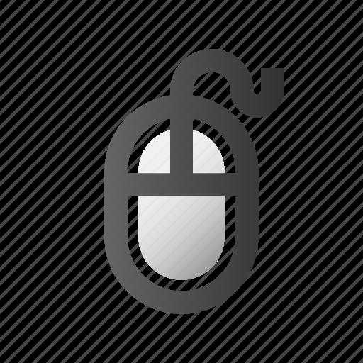 click, cursor, device, hardware, mouse, pointer icon