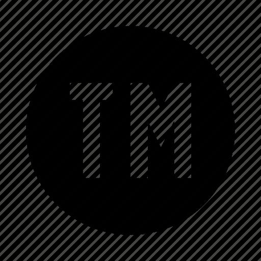 brand, business, copyright, tm, trademark icon