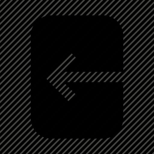 arrow, interface, left, ui icon