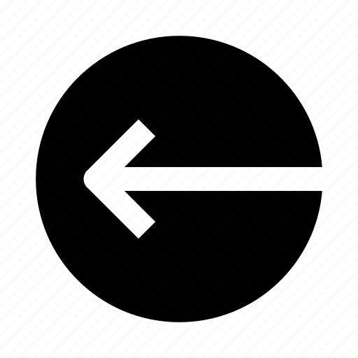arrow, circle, interface, left, ui icon