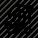 fingerprint, id, scan, secure icon