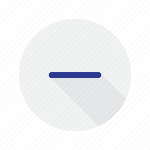 interface, minus, remove, substract icon