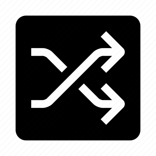 arrow, mixing icon
