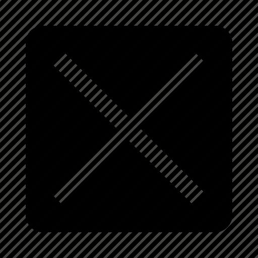 cancel, cross icon