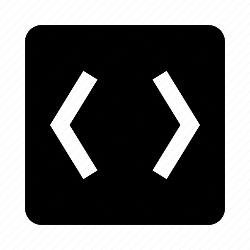 b, code, coding, html, programming icon