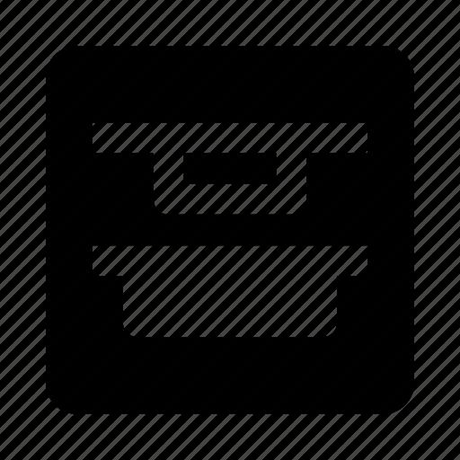 align, distribute, top, vertical icon