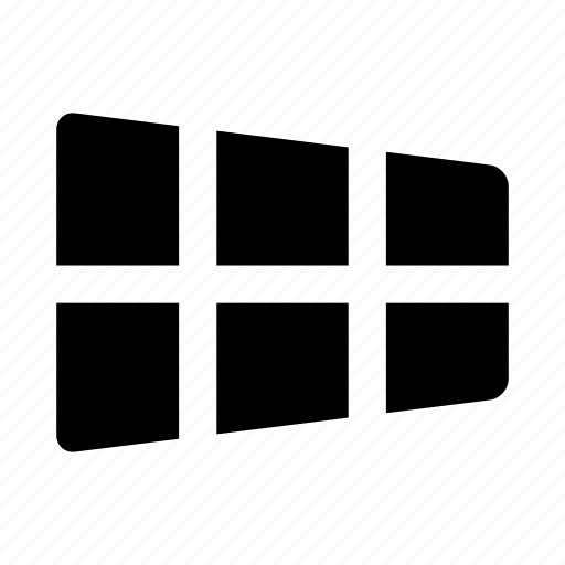 grid, windows icon