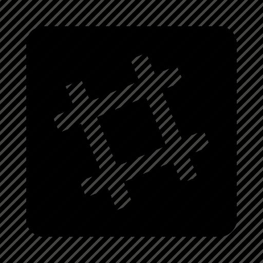 hash, lattice, slack icon