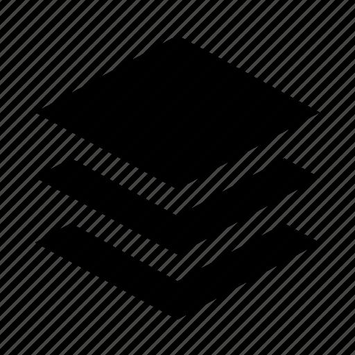 design, editor, layers icon