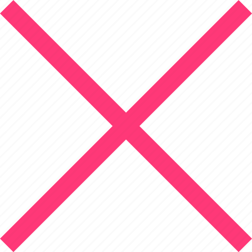 close, interface, sign, x icon