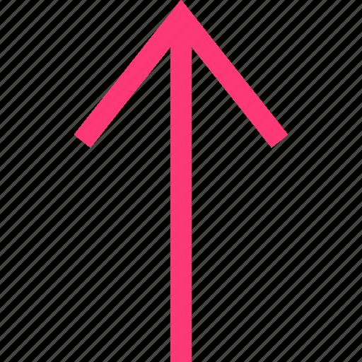 arrow, file, mobile, upload icon