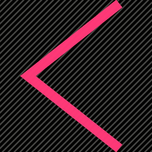 back, backwards, mobile icon