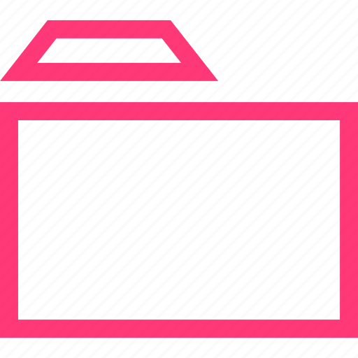 folder, mobile, save, web icon