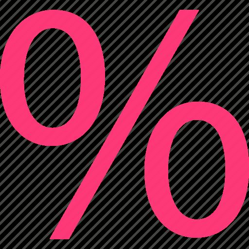 number, percent, percentage icon