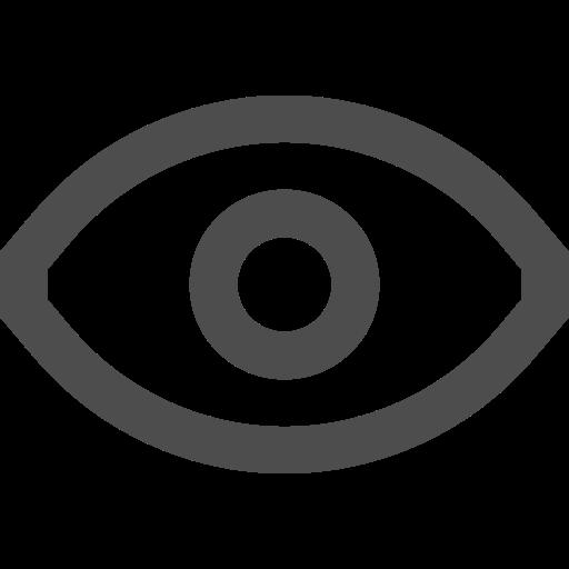 Interface, eye, ui, vision, view icon