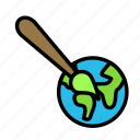 creative, design, draw, earth, interface, tool icon