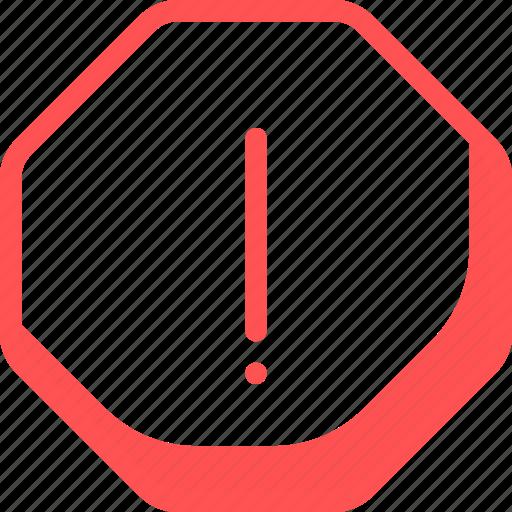 Alert, attention, error icon - Download on Iconfinder