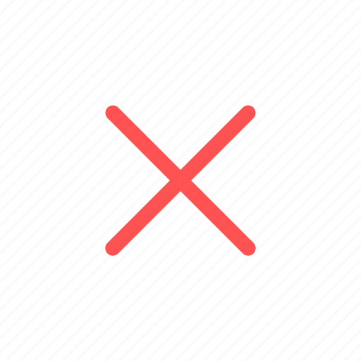 clear, close, interface, remove, small icon